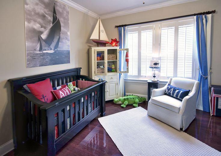 Детские комнаты в морском стиле: особенности, фото-6