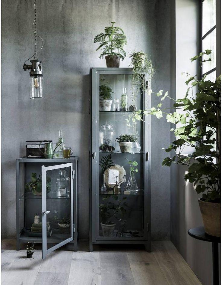 vtwonen vitrinekast hoog Show, jade groen