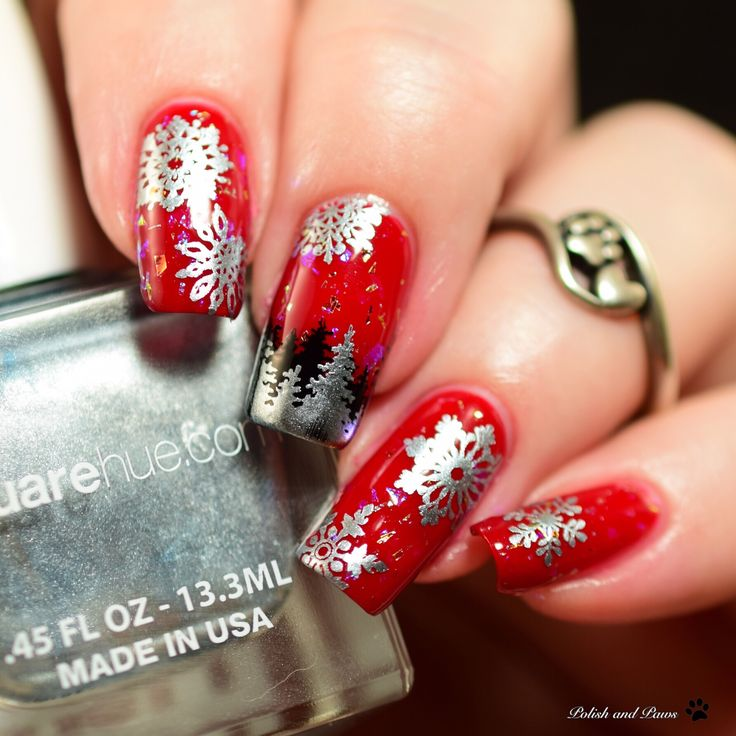Nail Art with SquareHue Dance Collection Waltz