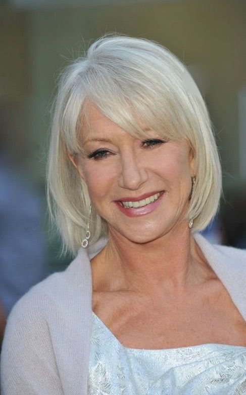 helen mirren hair ideas