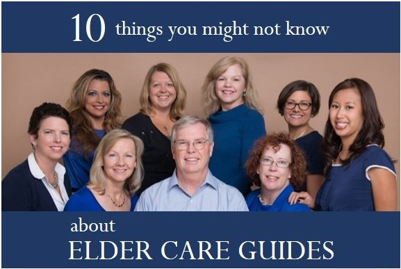 """In celebration of our 10th anniversary, this month we'll share """"10 things you might not know about Elder Care Guides!"""" Got a question about us? Who are we? What do we do? Let us know!"""