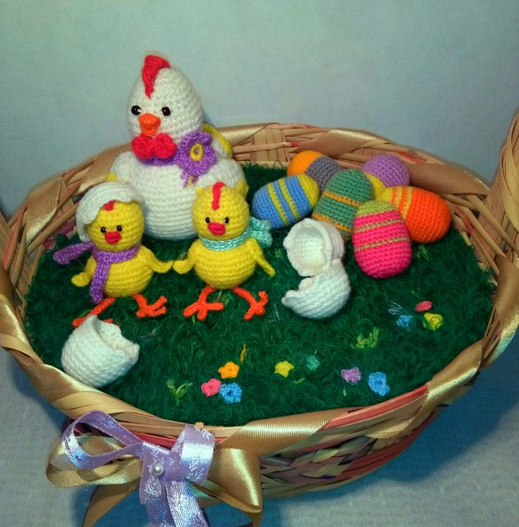 knitted Easter.