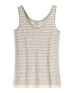 BEPPU STRIPE VEST by TOAST