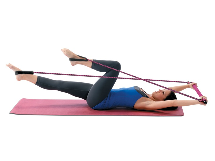 Portable Pilates System - This looks easy to take with you when you travel
