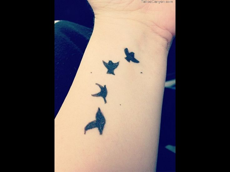25 best ideas about bird silhouette tattoos on pinterest