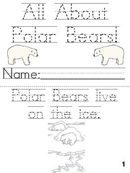 polar bear worksheets kindergarten bears at enchantedlearning polar bear activities crafts. Black Bedroom Furniture Sets. Home Design Ideas