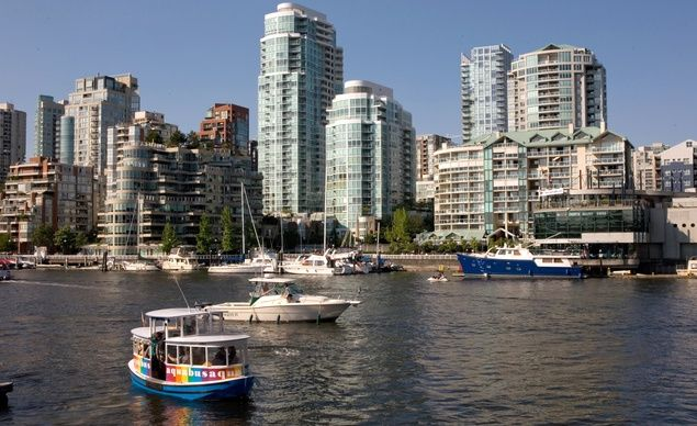19th Most Photographed City: Vancouver, B.C. Landmark: Granville Island. Standard Shot: A long shot of the skyline from the harbor. (From: Slideshow: 25 Most Photographed Places )