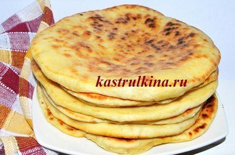 Хачапури с сыром из бездрожжевого теста на кефире, рецепт с пошаговыми фото.