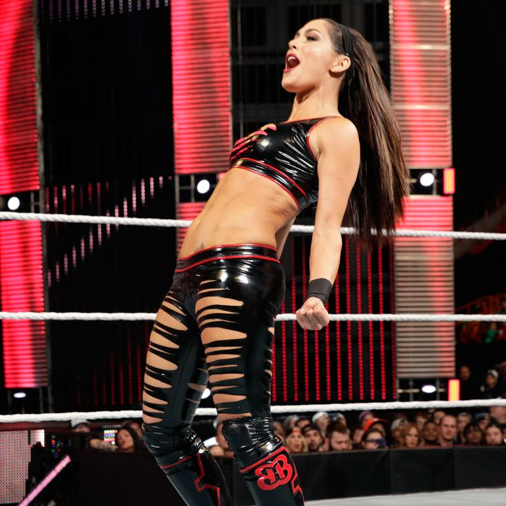 Raw 12516 Natalya Paige Vs Brie Bella Alicia Fox-3084