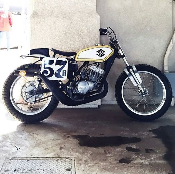 Suzuki streettracker via 4h10.com - Bikes, Lifestyle & More.