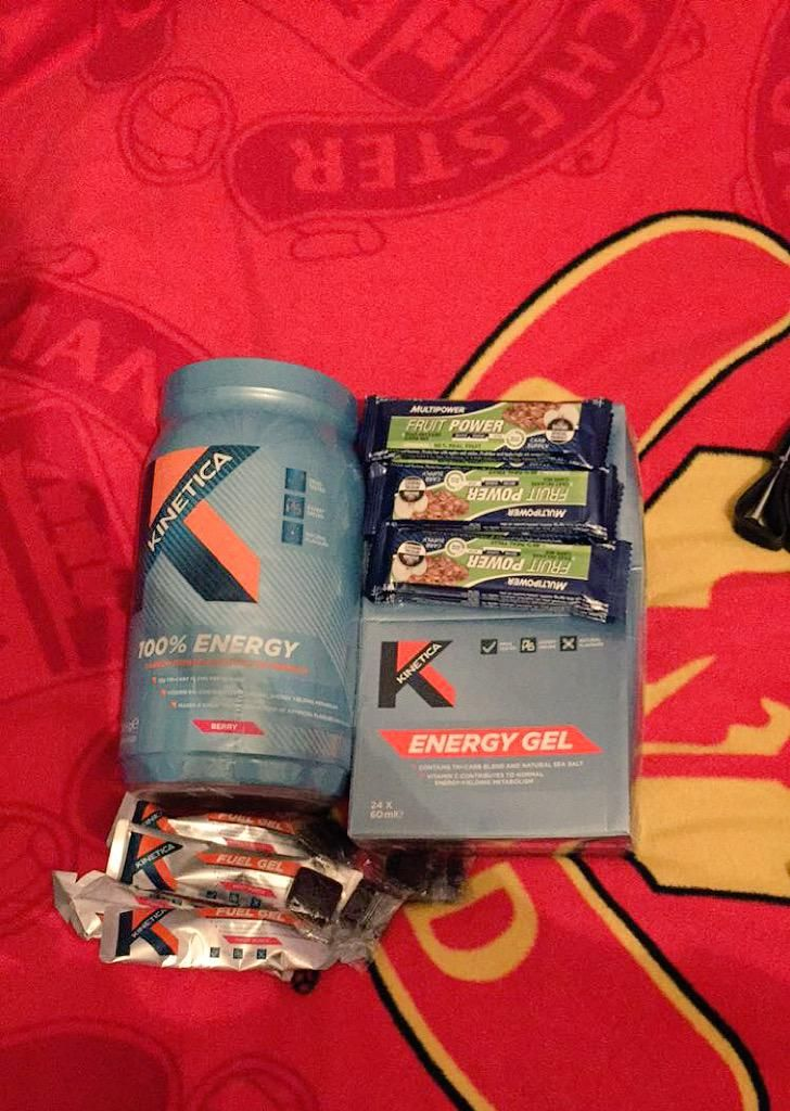 Thanks @focussportsnut fuelled by @KineticaSports the best nutrition out there