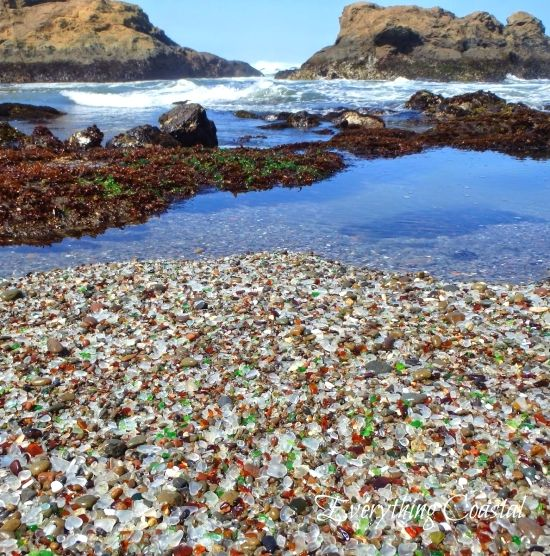 The best sea glass beaches in the united states sea for Best northern california beaches