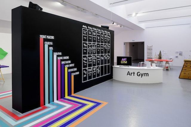 """The Art Gym"" Break an artistic sweat at the Tate Liverpool Gallery, thanks to Turner Prize winners, Assemble."