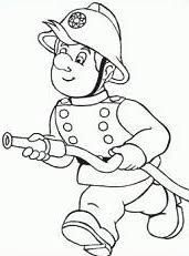 Image result for fireman hose clipart black and white
