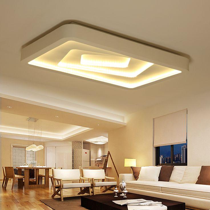 Modern Led Ceiling Lights For Living Room Bedroom 95 265V Indoor Lighting  Ceiling Lamp Fixture Part 88