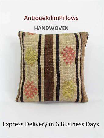 kilim pillow cover throw pillow kilim pillow case decorative pillow turkish cushion tapestry rustic pillow farmhouse decor home decor 000123