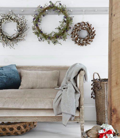 40 Festive Do It Yourself Christmas Wreath Ideas