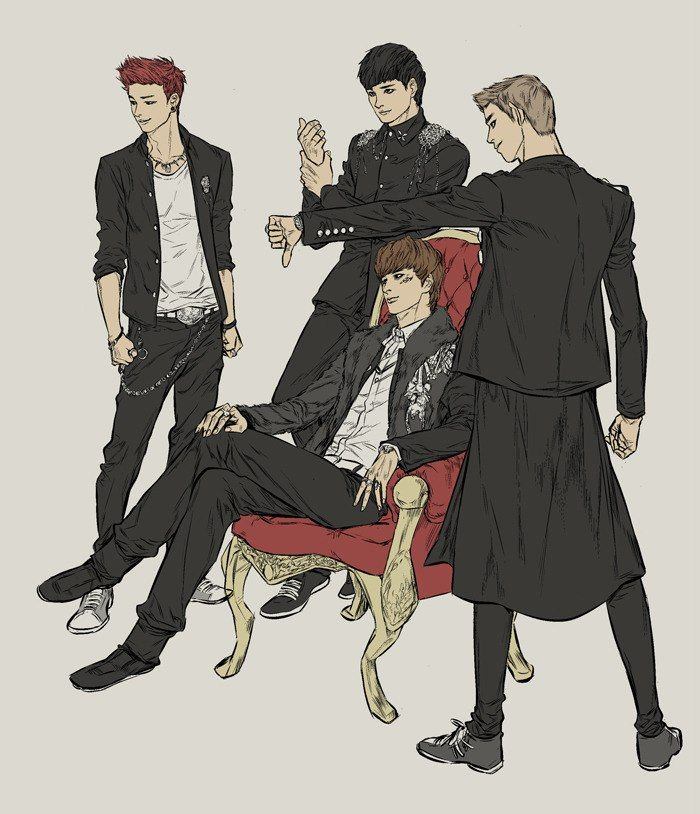 14 Best Block B Fanart Images On Pinterest