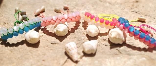 Double Sea shell bracelets  https://www.facebook.com/LOTUSbyM