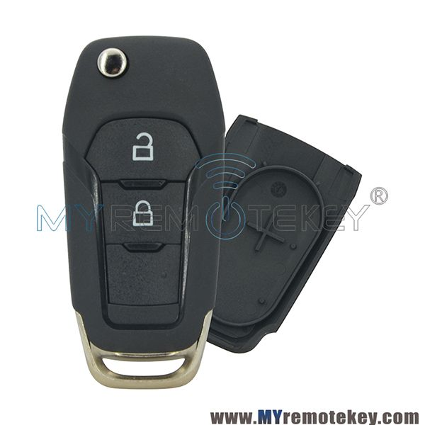 Ds7t 15k601 Be Flip Remote Car Key Shell Case For Ford Mondeo 2 Button Ford Mondeo Ford Car Keys