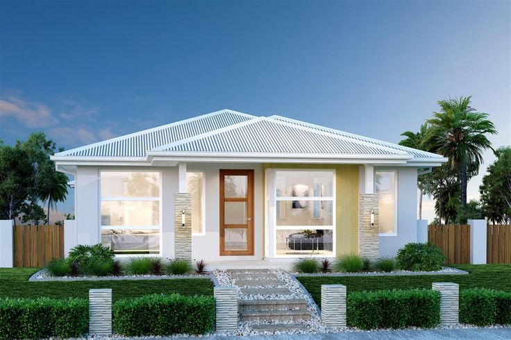 A narrow home site doesn't mean you should have to compromise on space or style. Home design ideas. 3 bedroom. 2 bathroom. 2 car. 176 m2. Image: Oceanside 176 - Small Metro Series, Urban façade. Download PDF brochure & floorplan: http://www.gjgardner.com.au/data/designs/13534_14.pdf #GJQLD #GJNSW. ph: 132 789