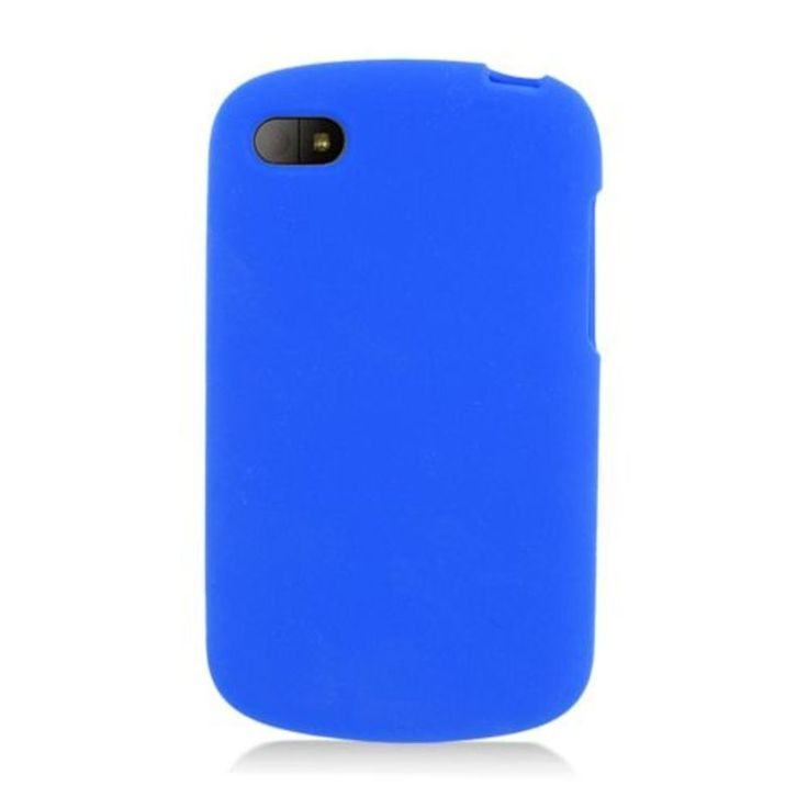 Insten Soft Silicone Skin Rubber Case Cover For BlackBerry Q10 #2332661