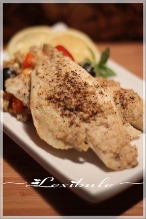 ~Filet+de+sole+en+croûte+au+parmesan~
