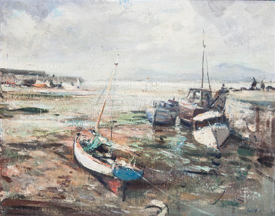 Kenneth Webb, (Irish/English, b. 1927), Ebb Tide   Milwaukee Winter Auction