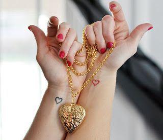 2017 trend Friend Tattoos - 2017 trend Friend Tattoos - CR Tattoos Design: Small heart tattoos for girls...