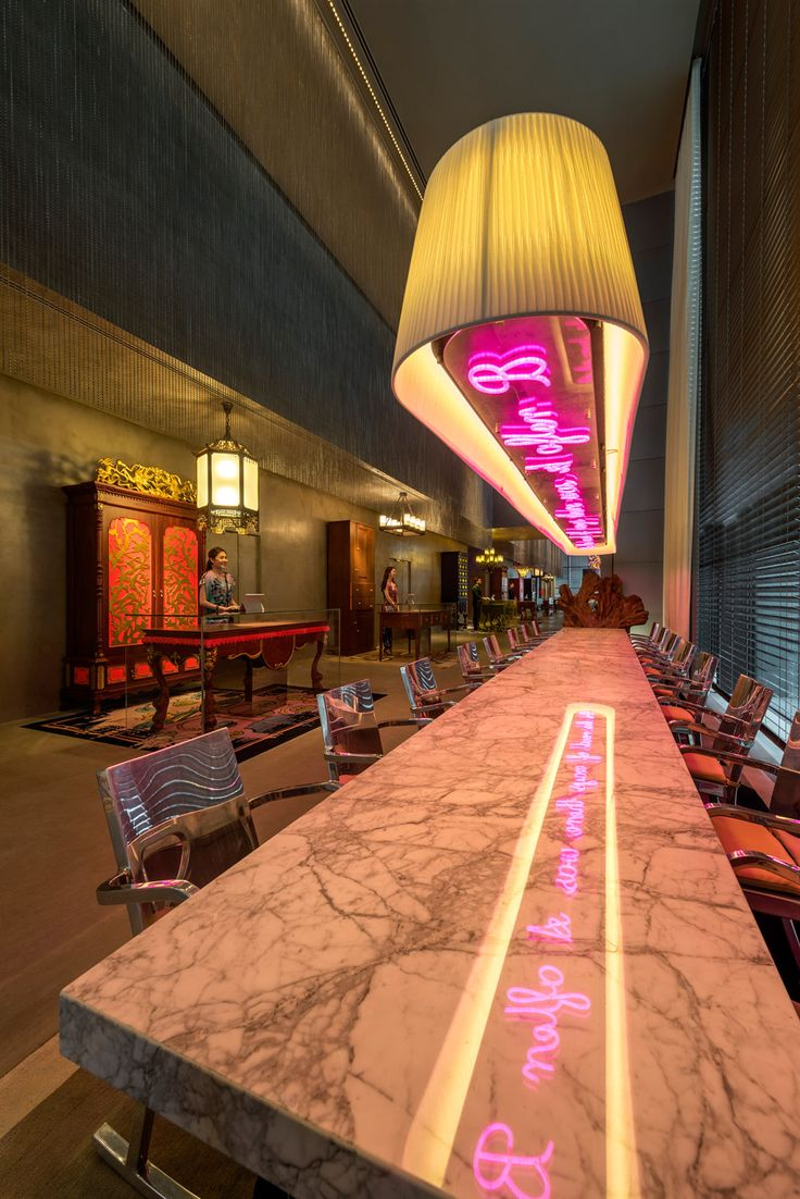 Imaginative Social Spaces in Singapore's latest hotel: The South Beach