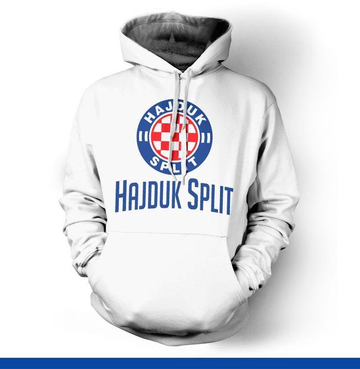 Hajduk Split Croatia Hoody Sweatshirt