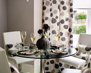 8 best images about curtain ideas for dining room on for Casual dining room curtain ideas