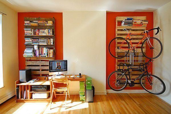 A pallet shelf & rack