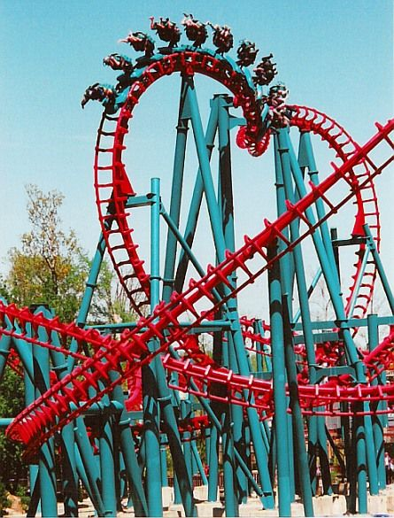 25 Best Ideas About Scary Roller Coasters On Pinterest