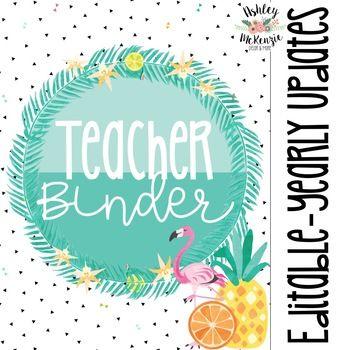 Tropical Flamingo Teacher B... by Ashley McKenzie | Teachers Pay Teachers