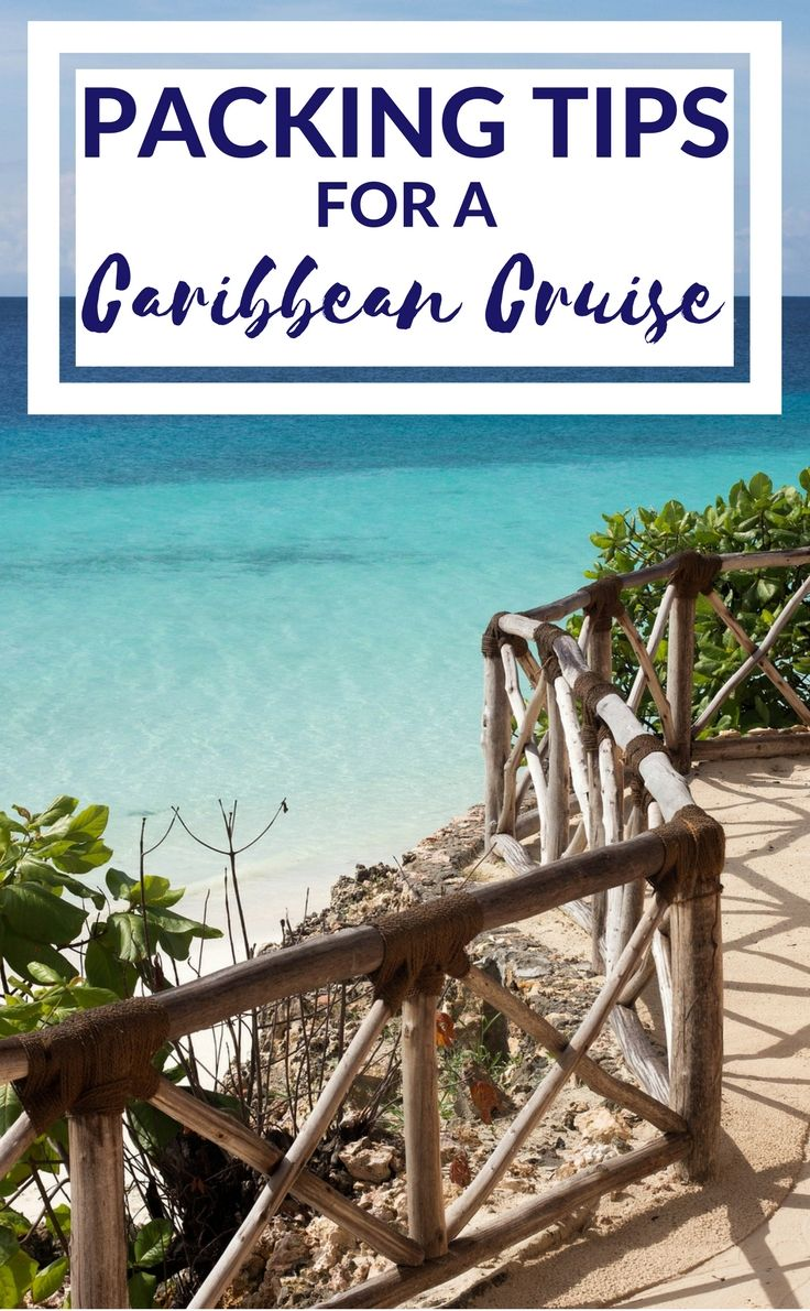 Packing tips for a Caribbean cruise.  With a range of activities onshore and events onboard, you may be left wondering just what to pack for a Caribbean cruise. Here's our top travel packing tips from what to wear on the beach and some of our fashion ship shape favourites. #cruisetips #packinghacks