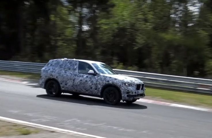 2018 BMW X5 M Spy Shots