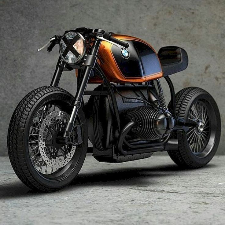 Cool Modification Of BMW R65 R80 R100 80