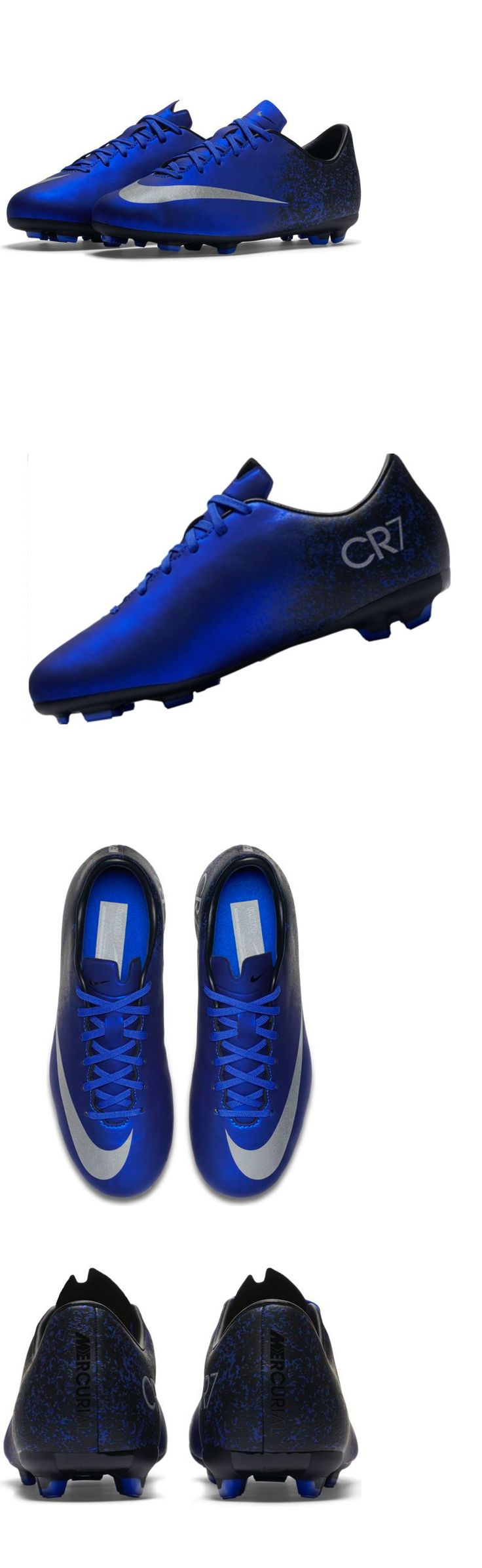 Youth 159177: Nike Jr. Mercurial Victory V Cr7 Fg Soccer Cleats Size 6Y Blue 684848-404 -> BUY IT NOW ONLY: $49.99 on eBay!