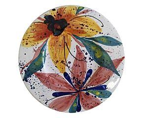 Sottopiatto tondo in ceramica Fiji - d 33 cm