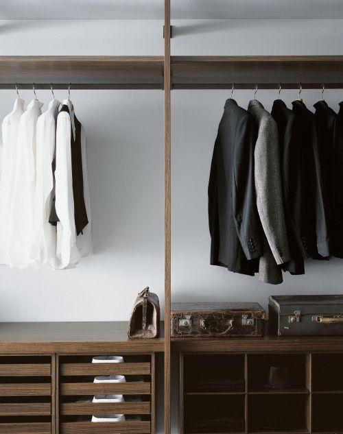 Porro Spa | Prodotti | Sistemi | Cabina armadio / Walk-in closet