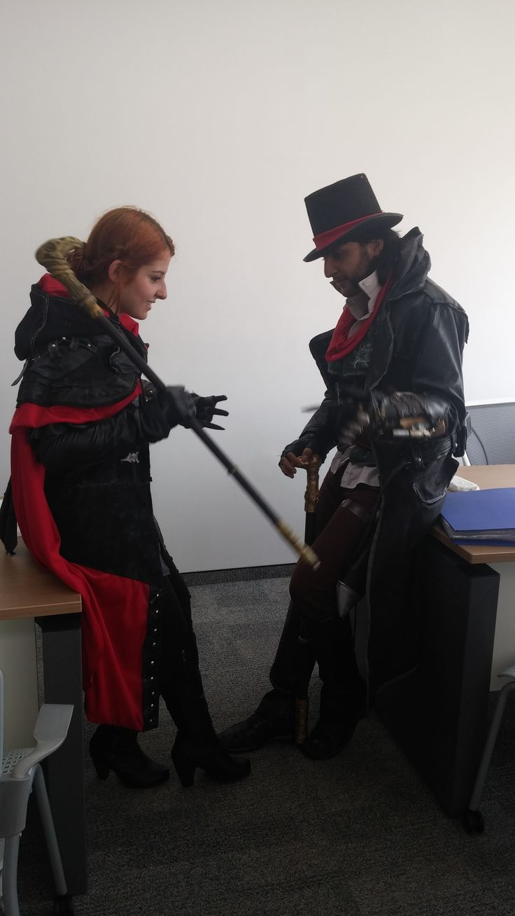 Jacob  e Evie Frye Assassins Creed Syndicate