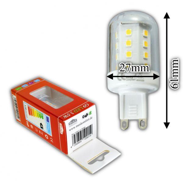G9 LED Leuchtmittel 3.5 Watt Nicht Dimmbar/4,5W Dimmbar