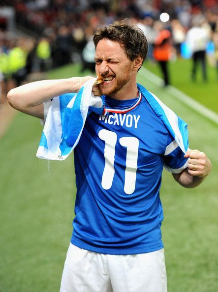 James McAvoy Photos: Soccer Aid 2014