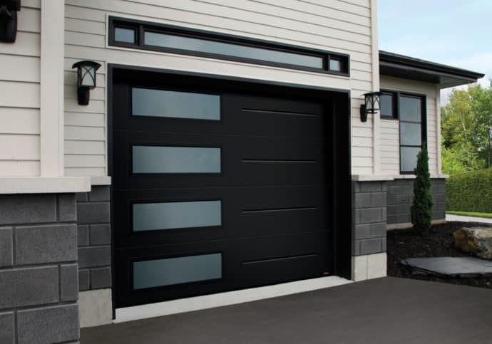 Modern Contemporary Garage Doors Garagedeur Huis Buitenkant