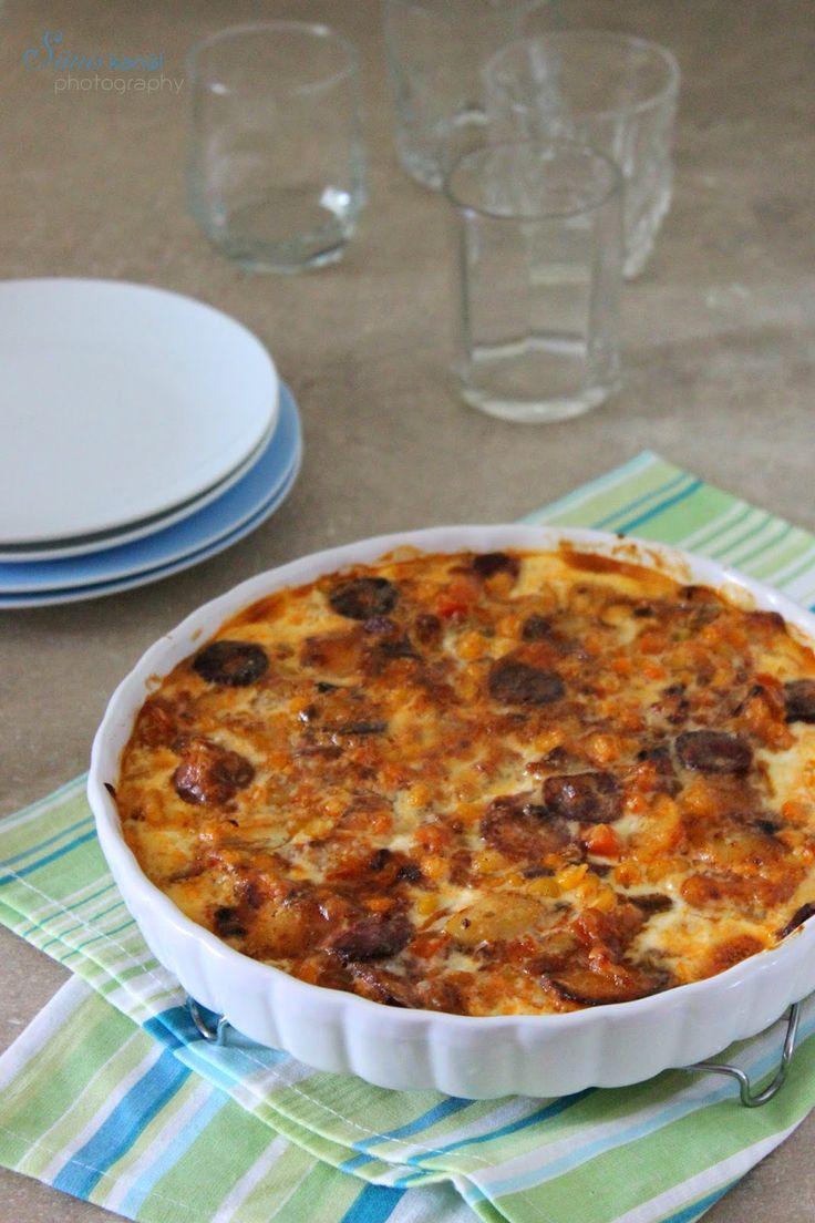 Sünis kanál: Lecsós-sajtos krumpli