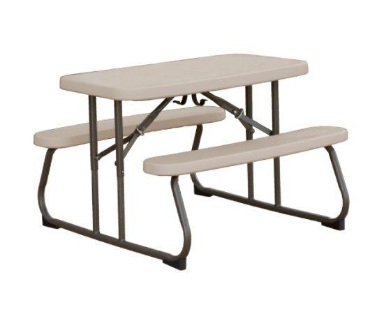 17 best images about lifetime plastic resin picnic tables on pinterest almonds sam 39 s club. Black Bedroom Furniture Sets. Home Design Ideas