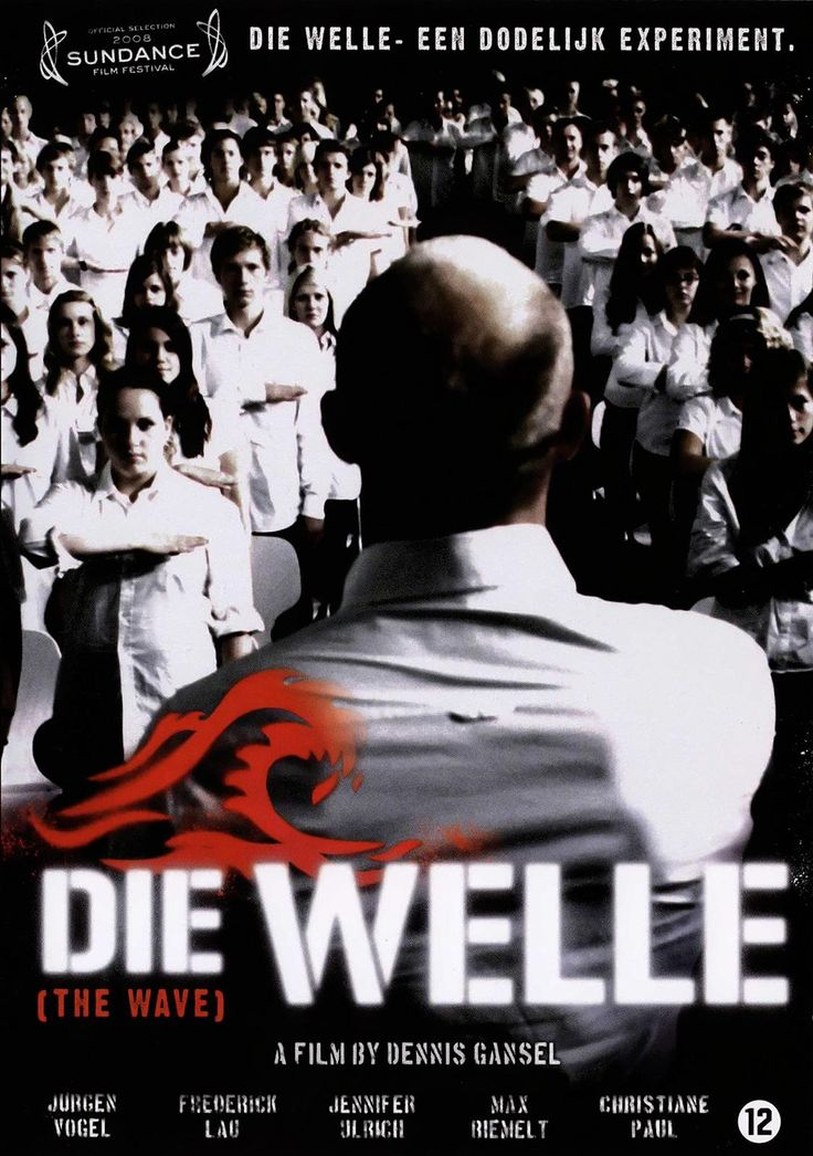 Die Welle - impressive movie!  A high school teacher's unusual experiment to demonstrate to his students what life is like under a dictatorship spins horribly out of control when he forms a social unit with a life of its own.