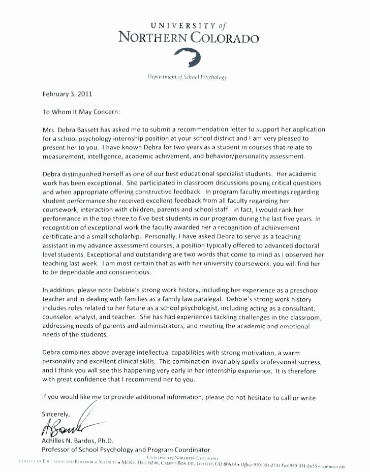 Addressing A Letter Of Recommendation from i.pinimg.com