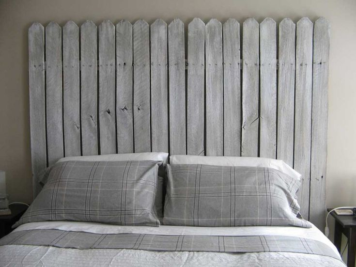 Thinking Creative for your Homemade Headboards : Simple Homemade Headboard